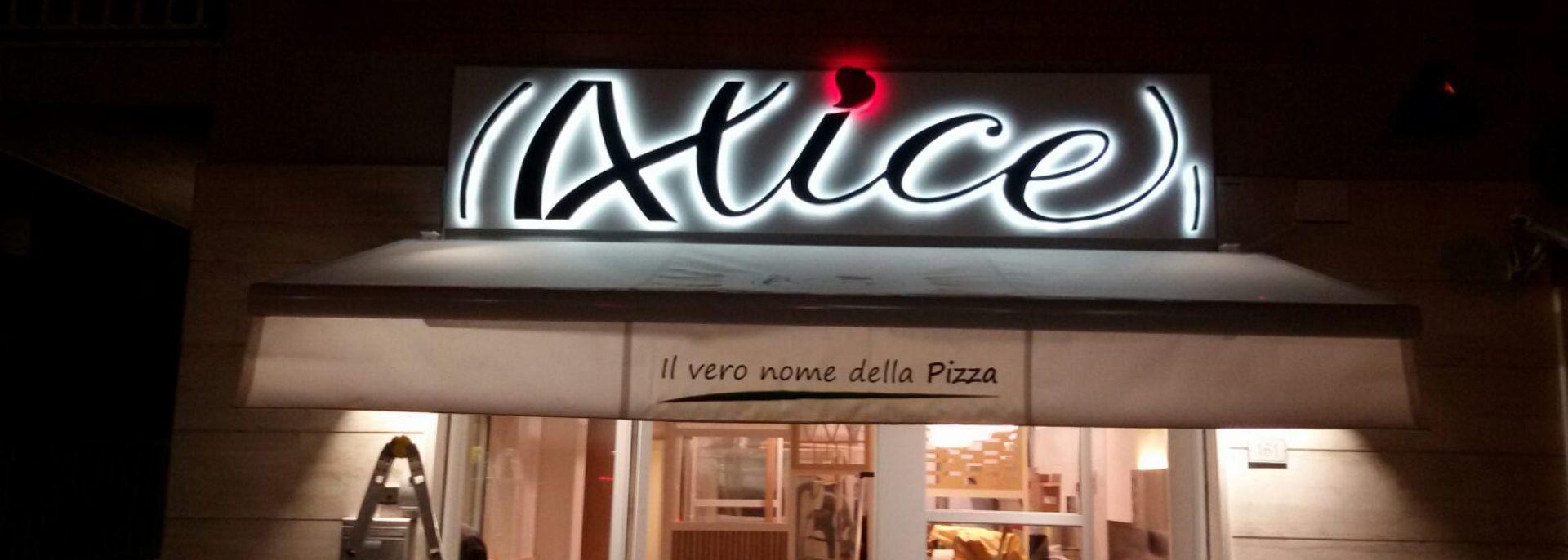 Insegne luminose Roma